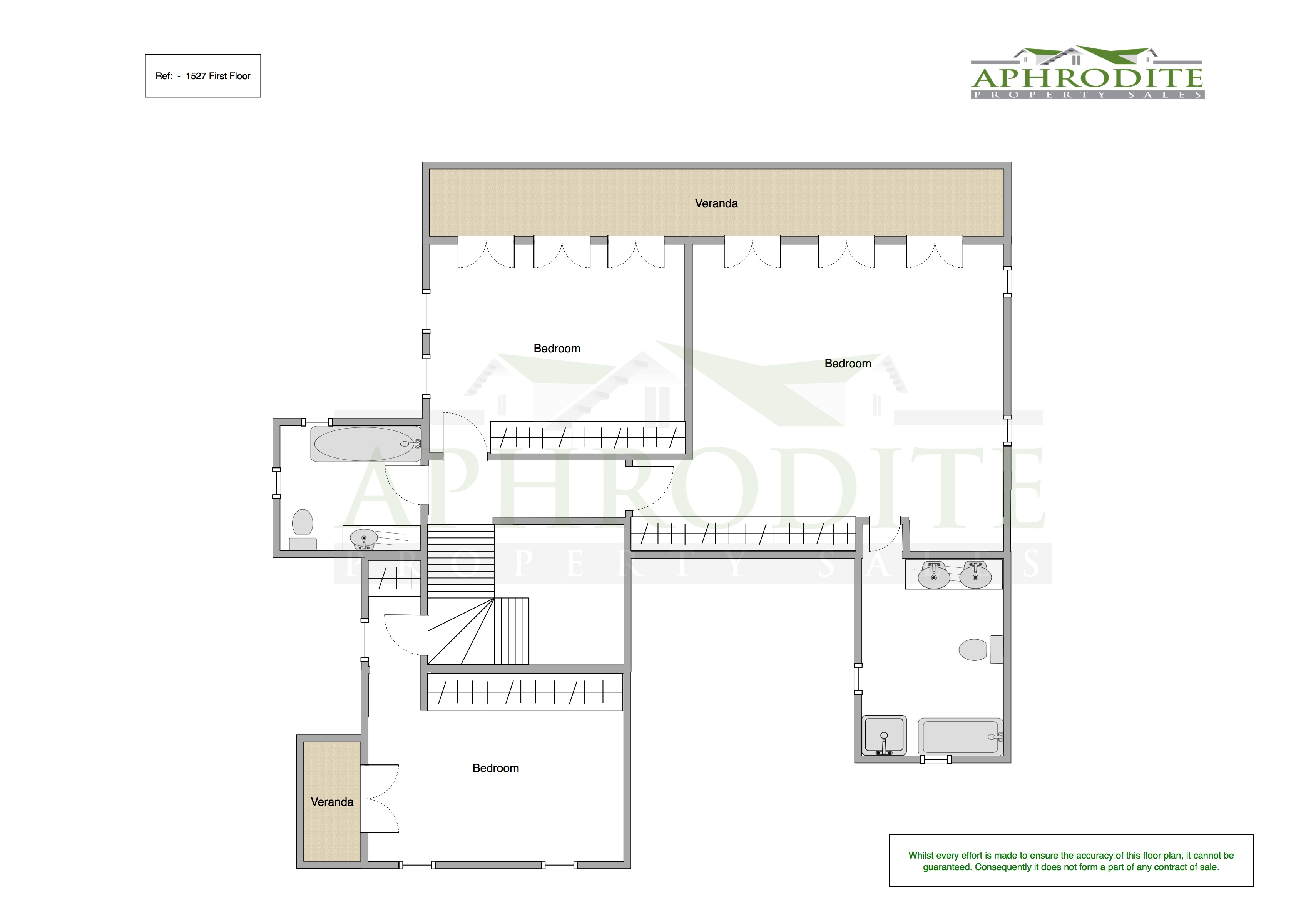 1527 - 4 Bedroom Villa - Aphrodite Hills floorplan