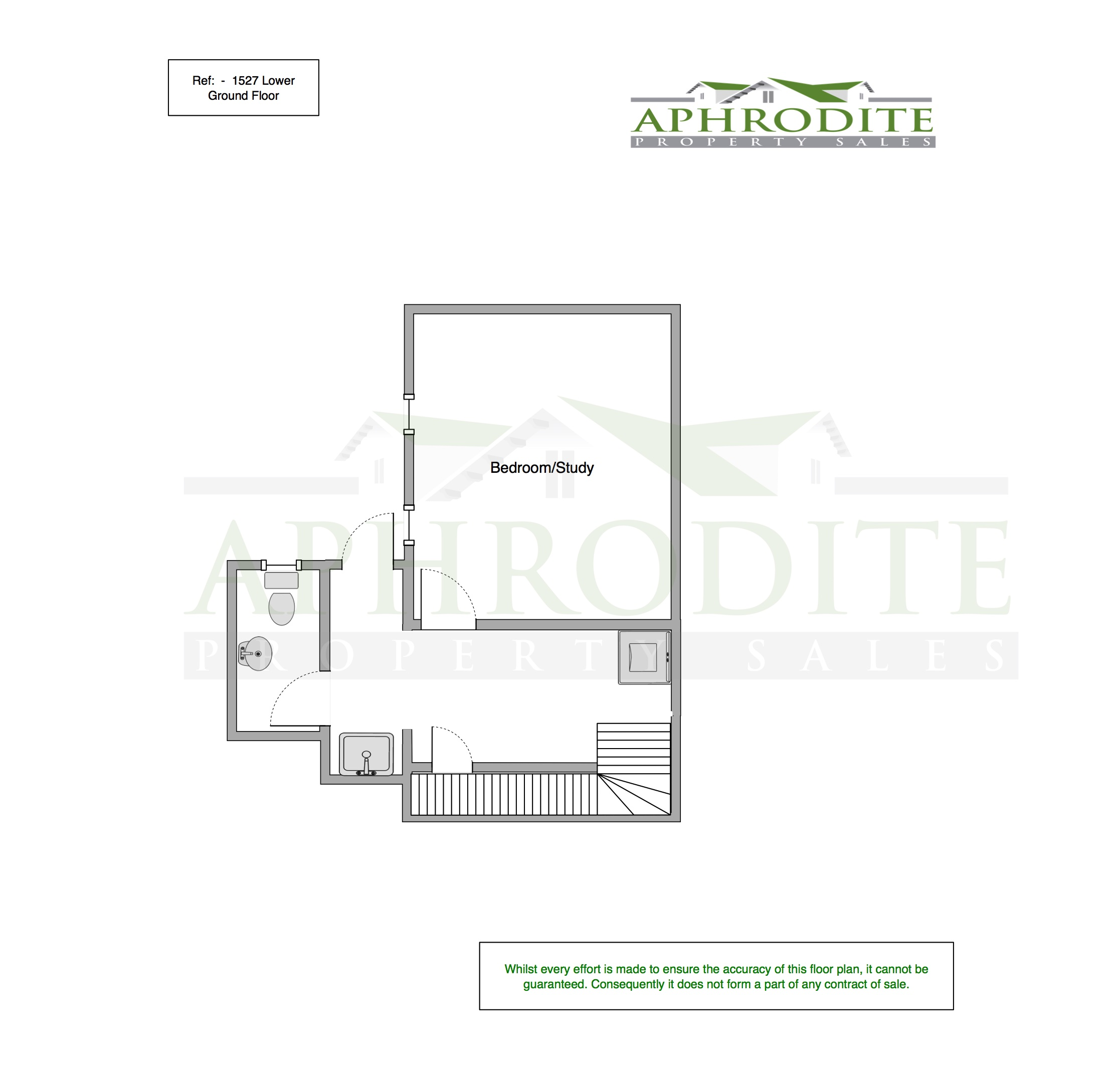 1527 - 4 Bedroom Villa - Aphrodite Hills floorplan 2