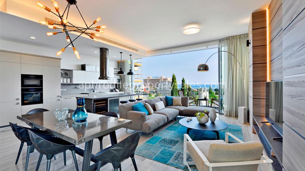 4 bedroom duplex penthouse apartment limassol for 4 bedroom luxury apartments