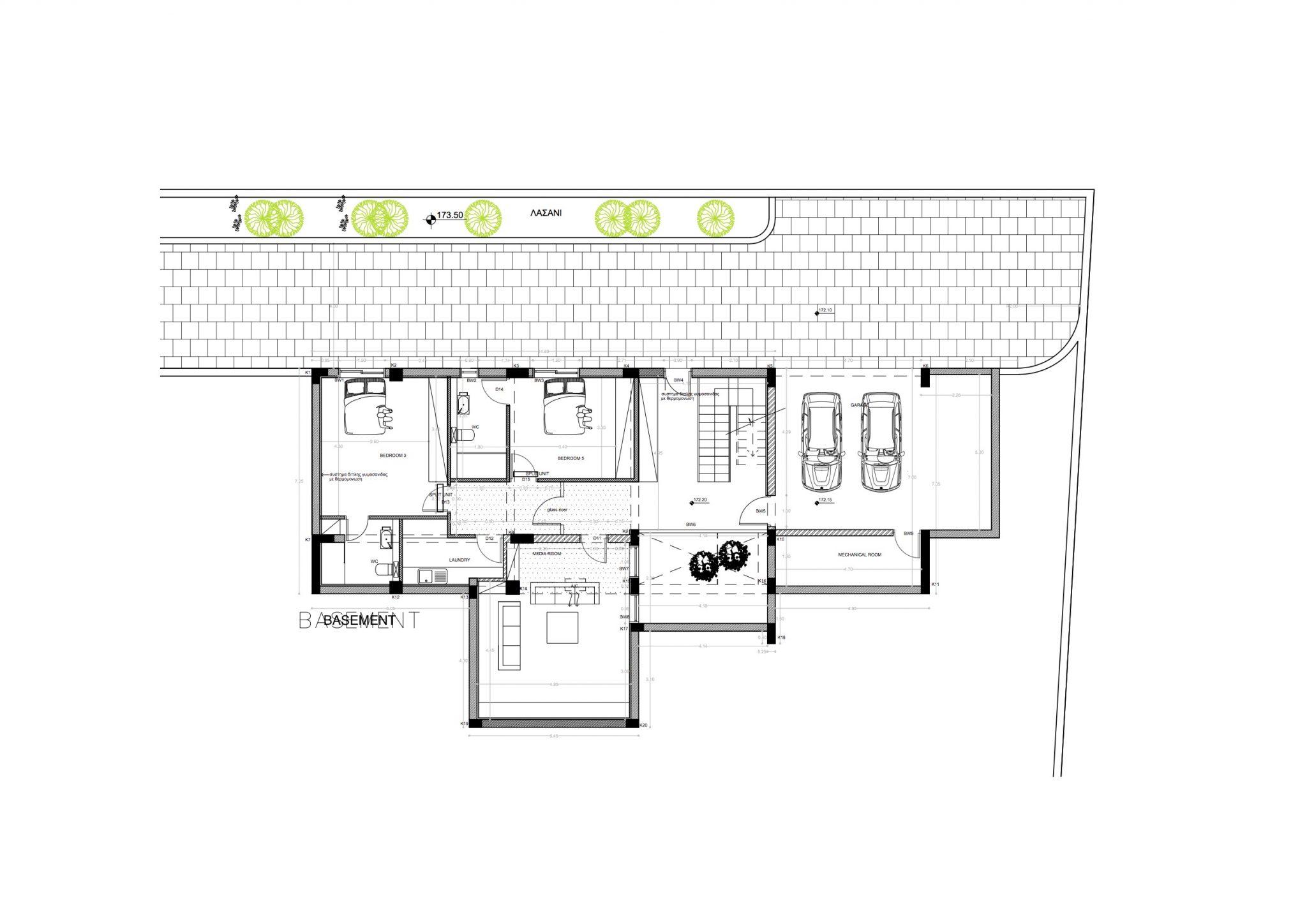 1538 - 5 Bedroom Villa - Aphrodite Hills floorplan 3