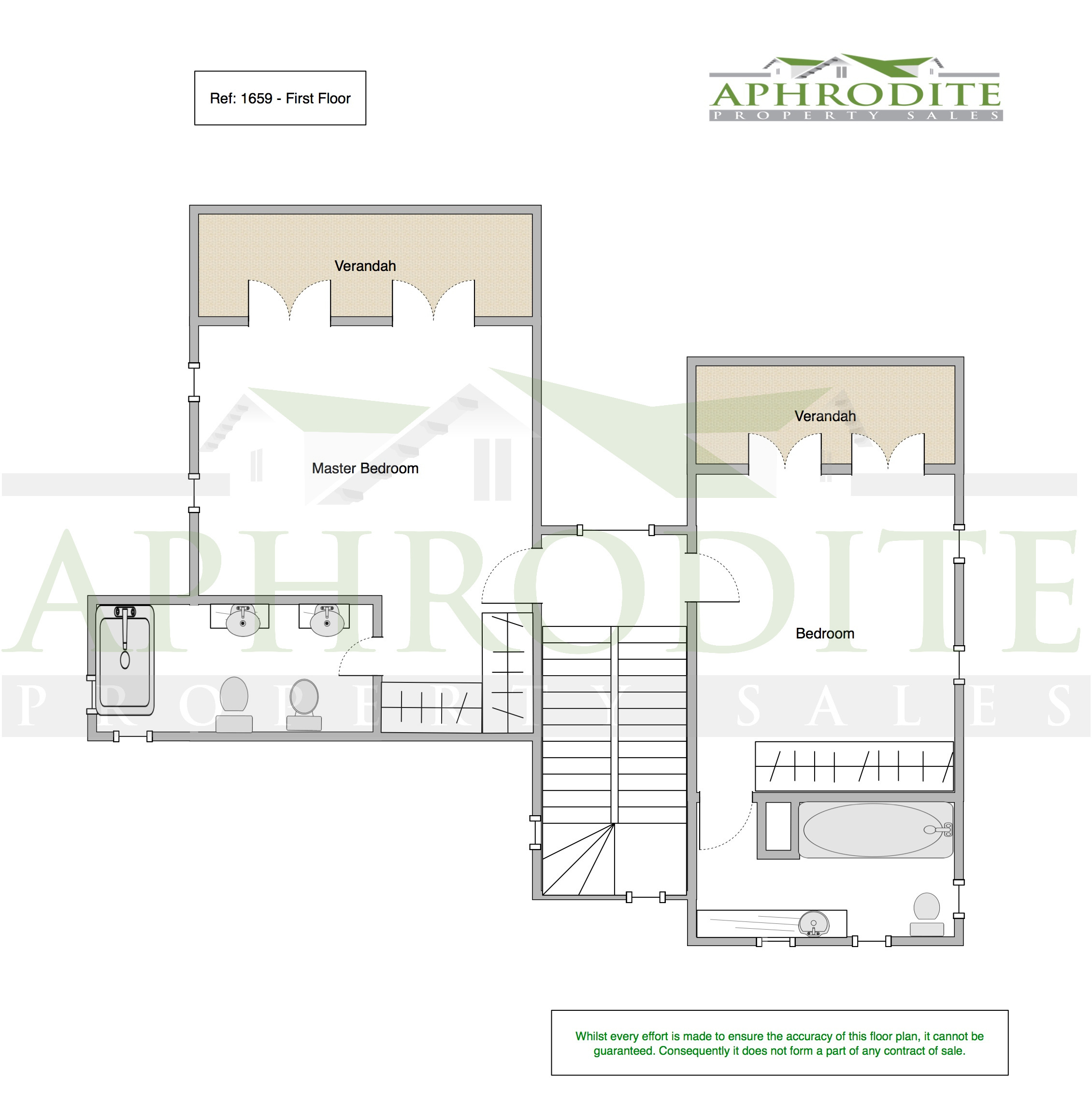 1659 - 3 Bedroom Villa - Aphrodite Hills floorplan 2