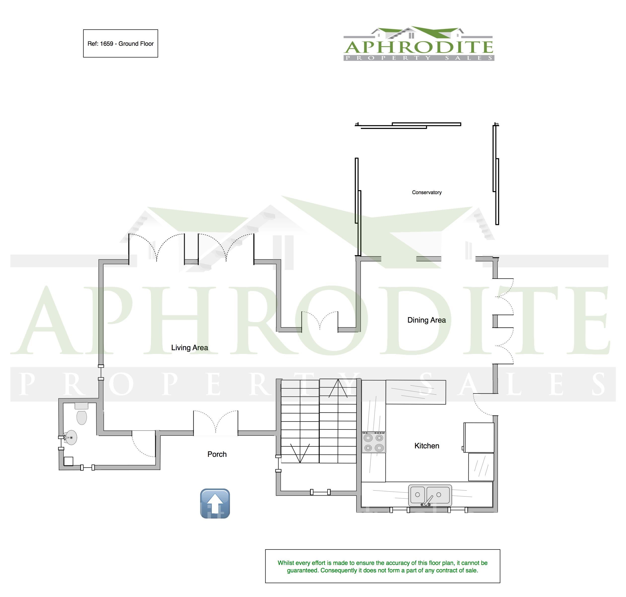 1659 - 3 Bedroom Villa - Aphrodite Hills floorplan