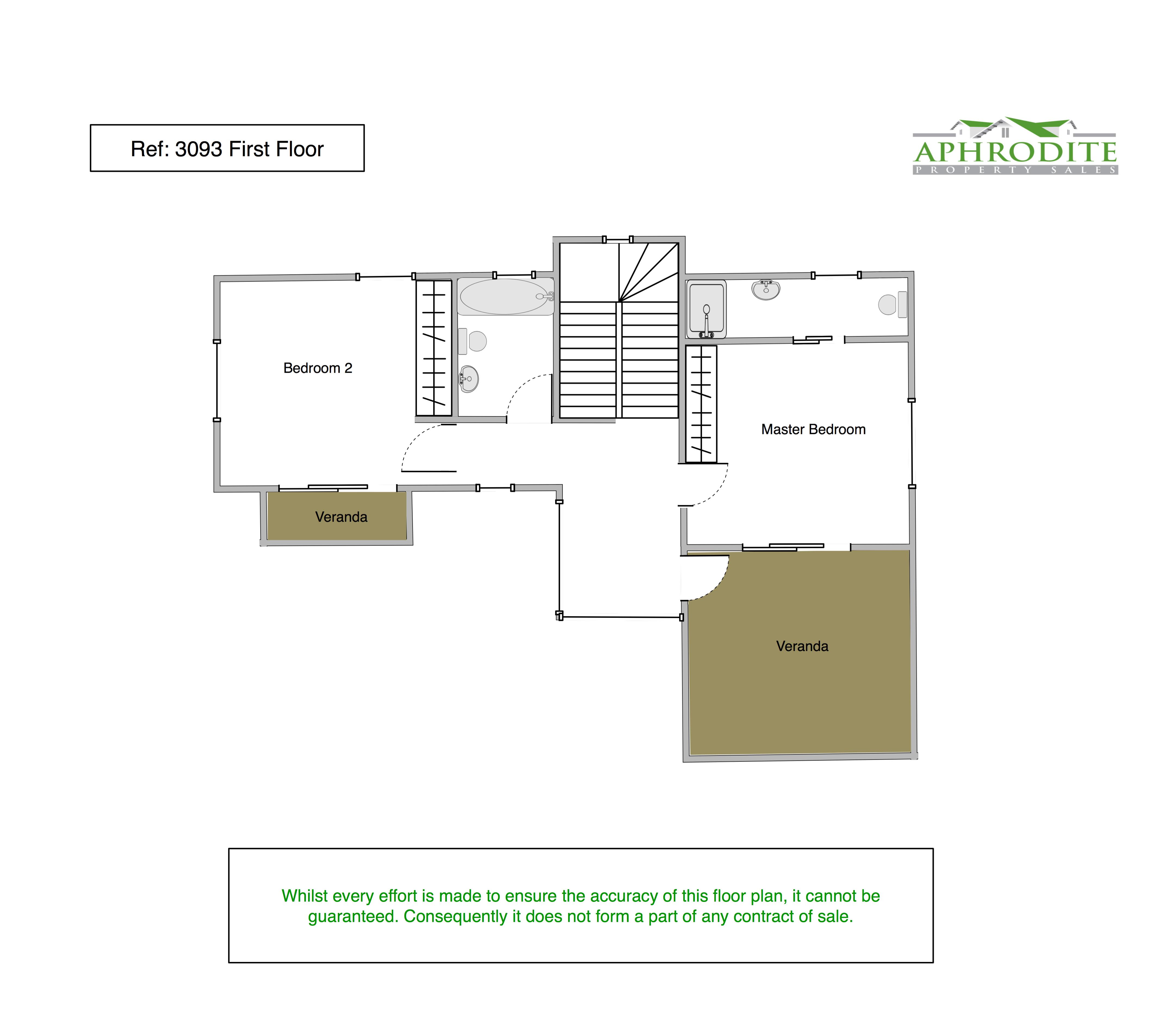 3093 - 3 Bedroom Detached Villa - Tala floorplan 2