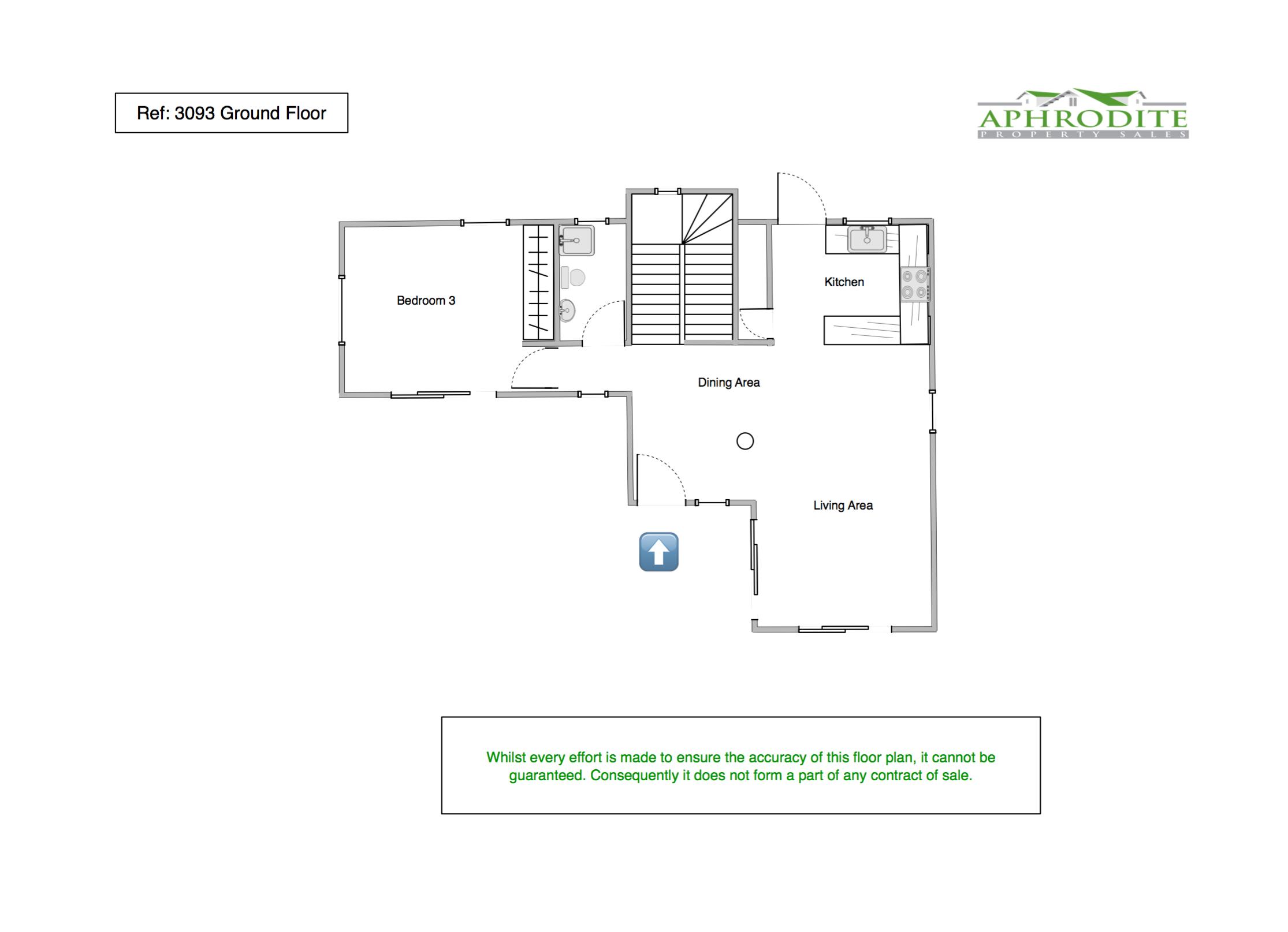 3093 - 3 Bedroom Detached Villa - Tala floorplan