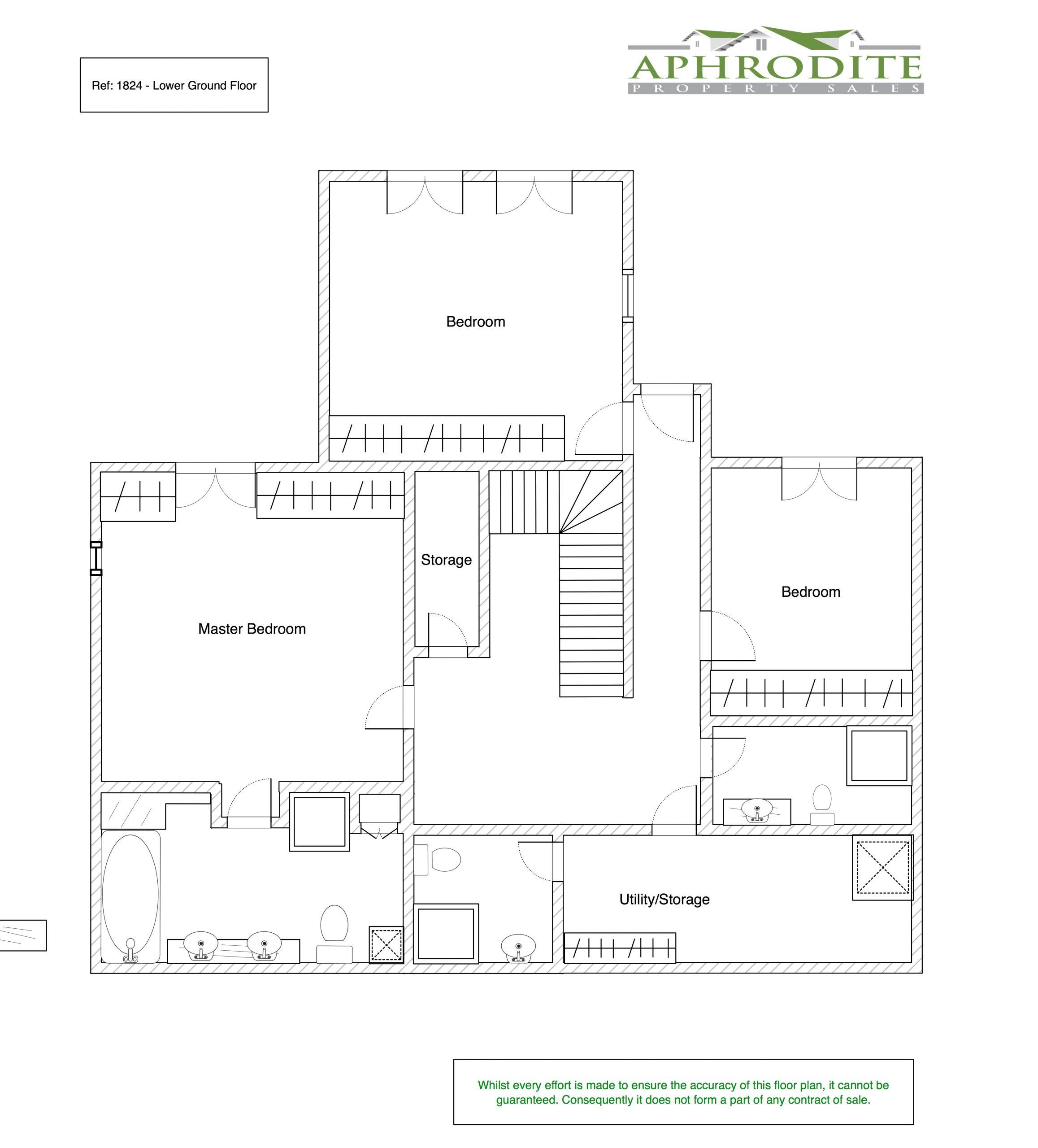 1824 - 3 Bedroom Junior Villa - Zephyros Village floorplan 2